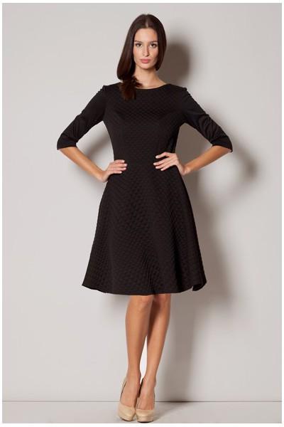Dámské šaty Figl M235 černé