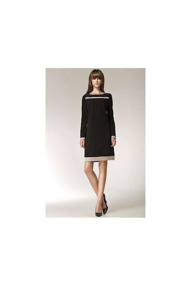 Dámské šaty Nife S40 černé