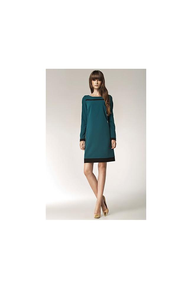 Dámské šaty Nife S40 zelené