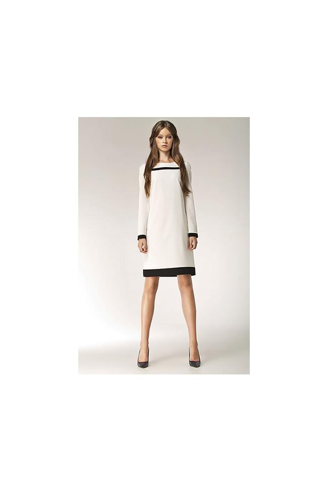Dámské šaty Nife S40 ecru
