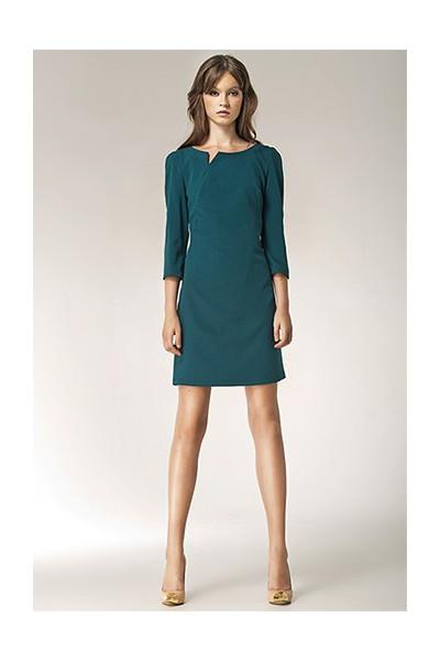 Dámské šaty Nife S39 zelené