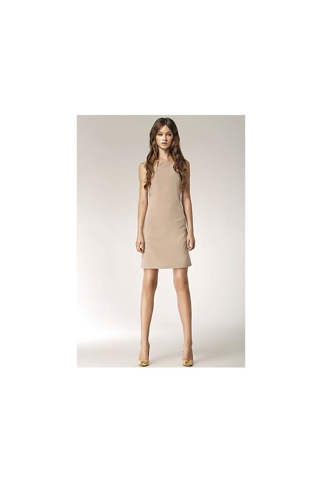 Dámské šaty Nife S37 béžové