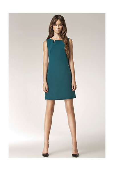 Dámské šaty Nife S37 zelené
