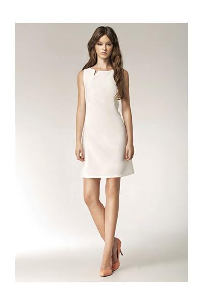 Dámské šaty Nife S37 ecru