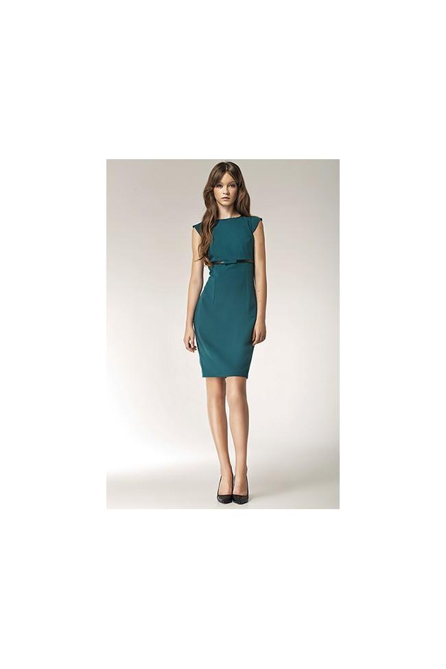 Dámské šaty Nife S36 zelené