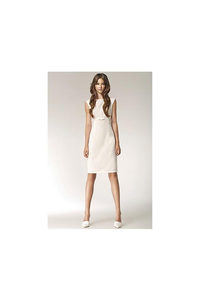 Dámské šaty Nife S36 ecru