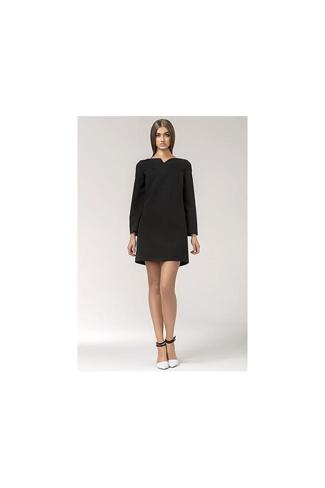 Dámské šaty Nife S35 černá