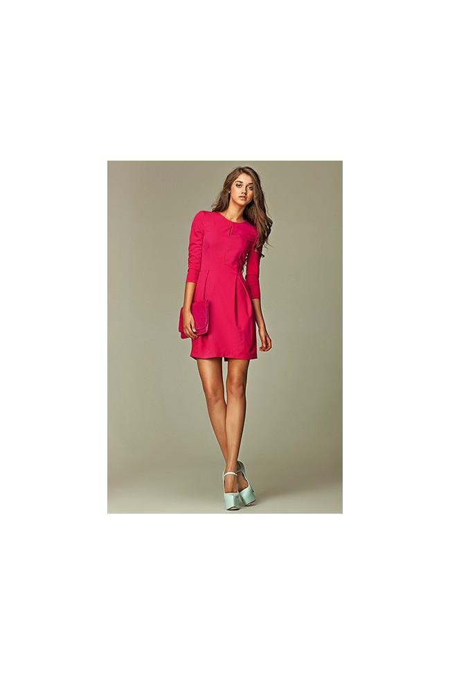 Dámské šaty Nife S32 růžové