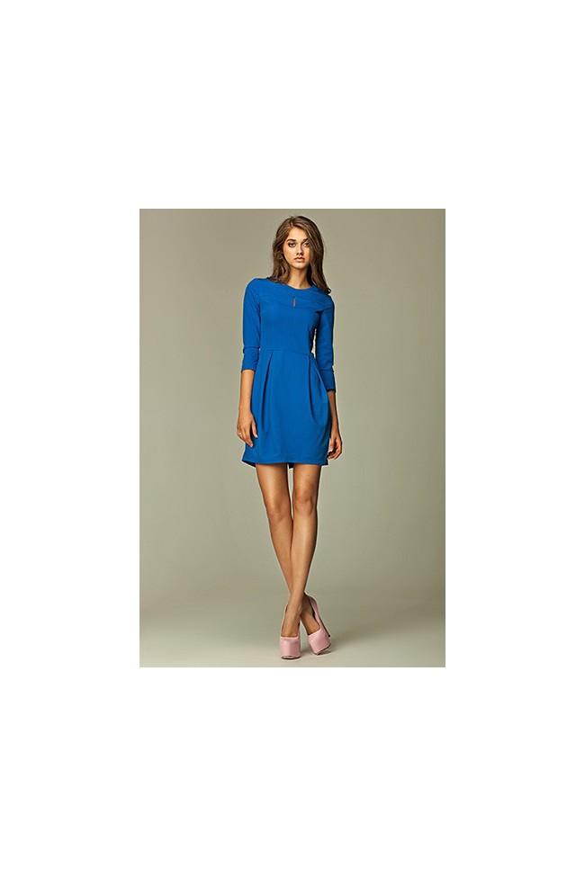 Dámské šaty Nife S32 modré