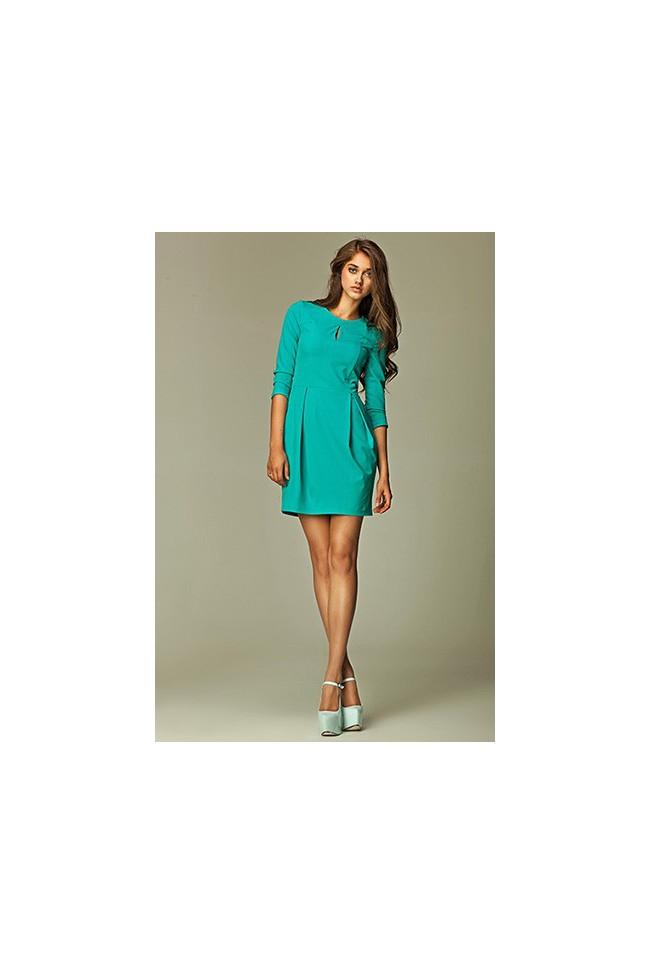 Dámské šaty Nife S32 zelené
