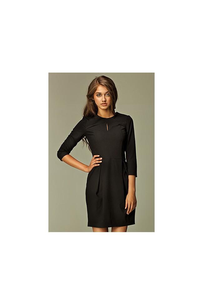 Dámské šaty Nife S32 černé