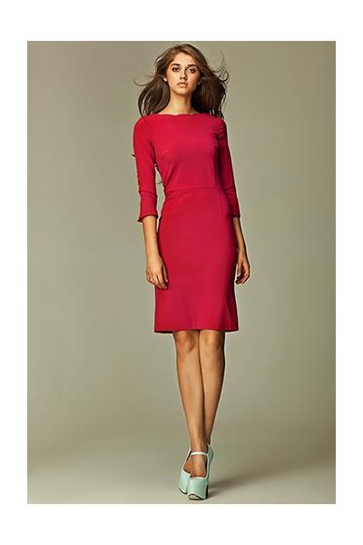 Dámské šaty Nife S30 sytě růžové