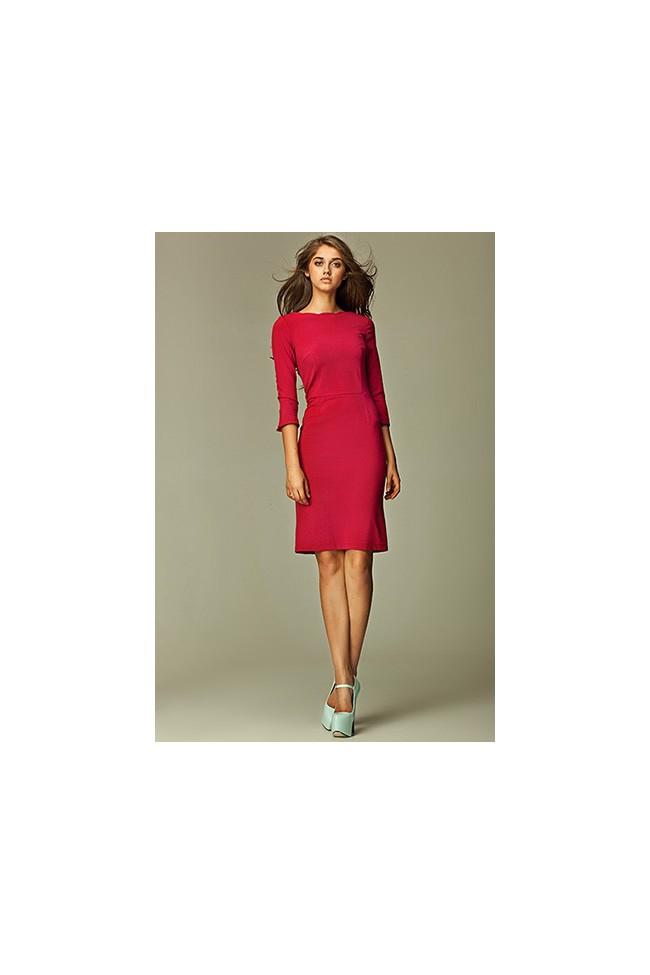Dámské šaty Nife S30 bordó