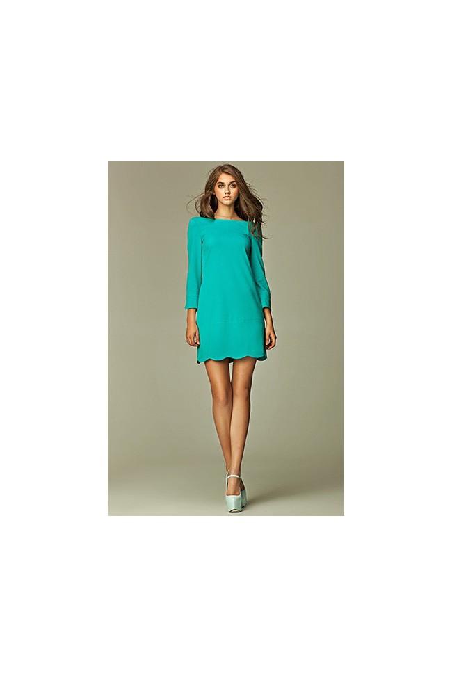 Dámské šaty Nife S28 zelené