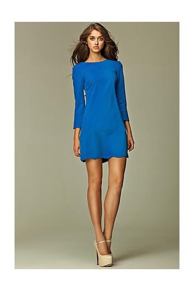 Dámské šaty Nife S28 modré