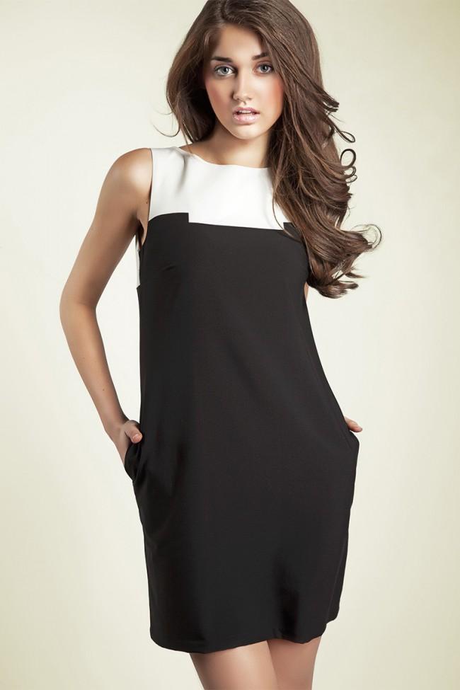 Dámské šaty Nife S25 černé
