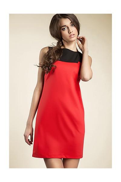Dámské šaty Nife S25 červené