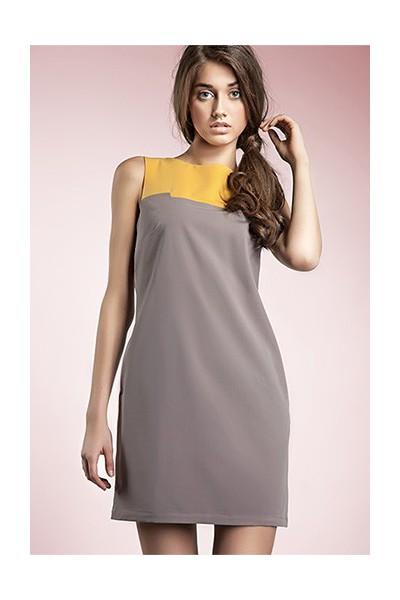 Dámské šaty Nife S25 moka