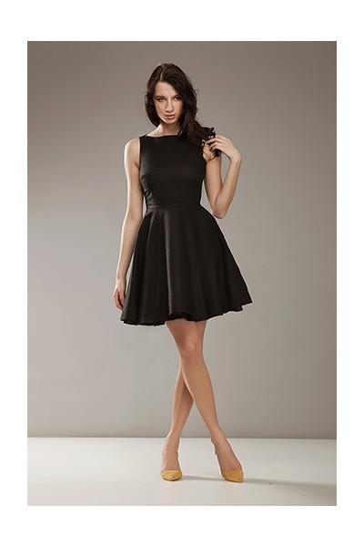 Dámské šaty Nife S170 černé