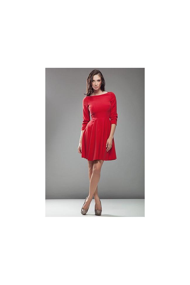 Dámské šaty Nife S19 červená