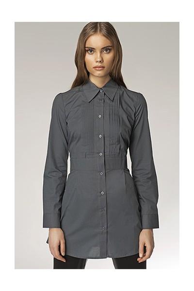 Dámská košile Nife K 19-šedá