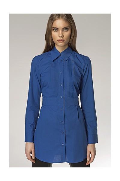 Dámská košile Nife K 19-modrá