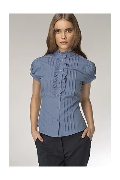 Dámská košile Nife K 26-modrá