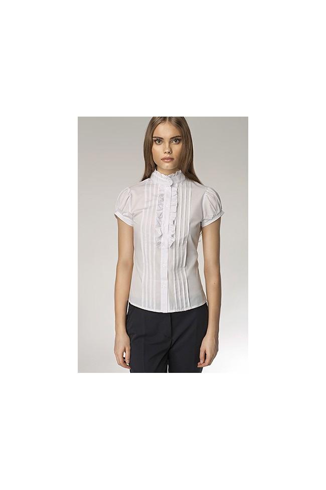 Dámská košile Nife K 26-bílá