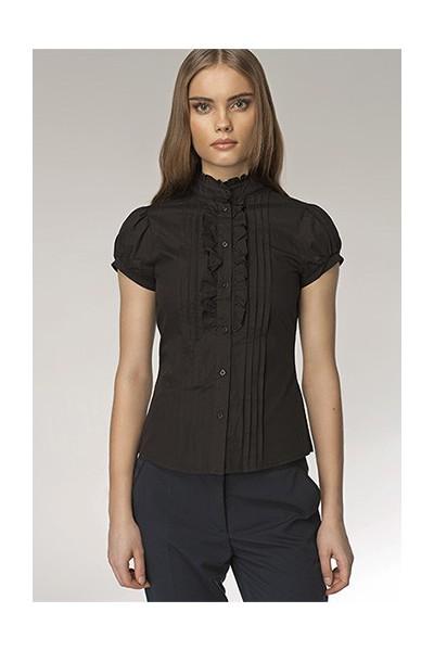 Dámská košile Nife K 26-černá