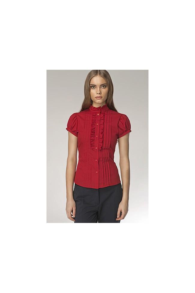 Dámská košile Nife K 26-červená