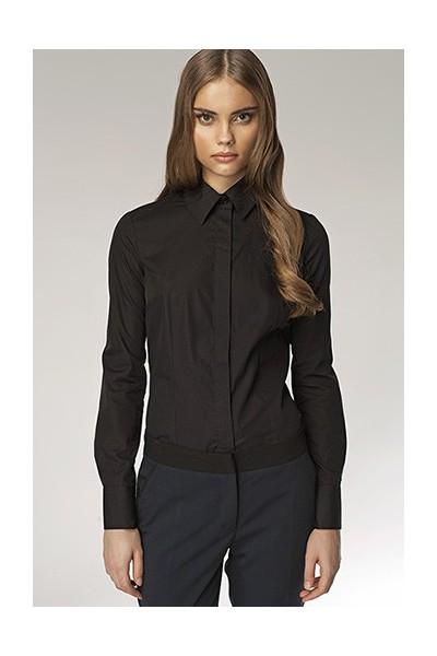 Dámská košile Nife K 31-černá