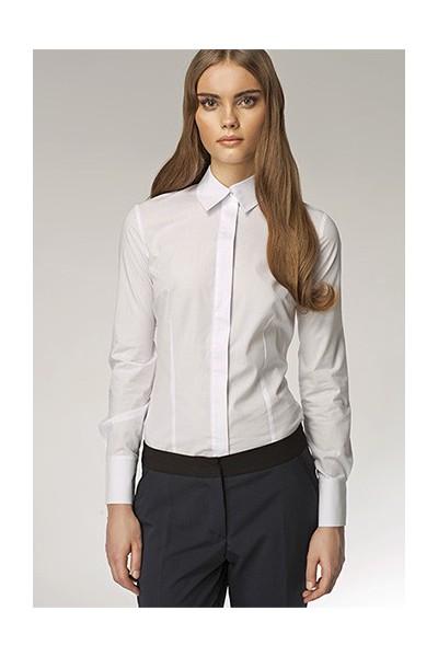 Dámská košile Nife K 31-bílá
