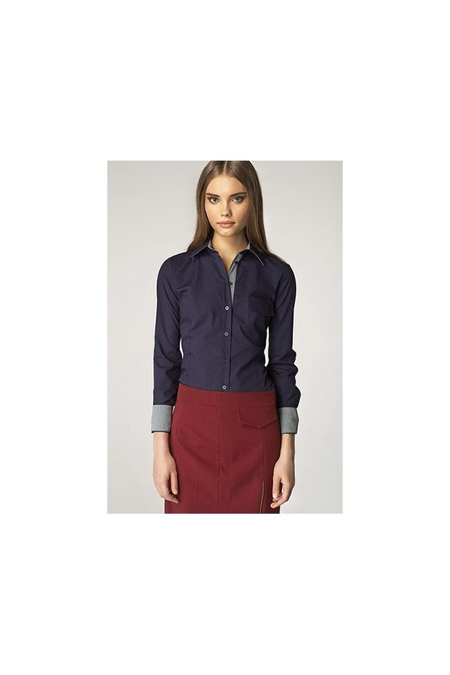 Dámská košile Nife K36-modrá