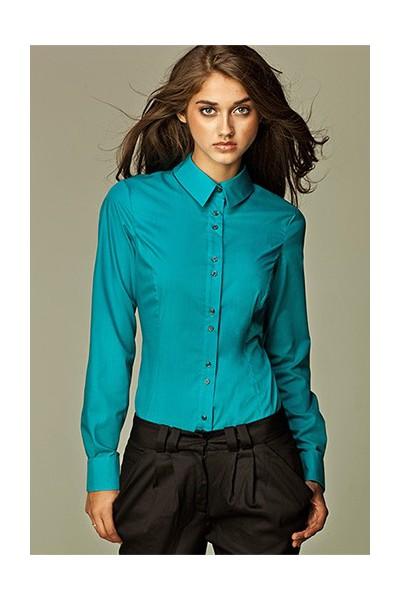 Dámská košile Nife K 38-modrá