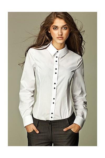 Dámská košile Nife K 38-bílá