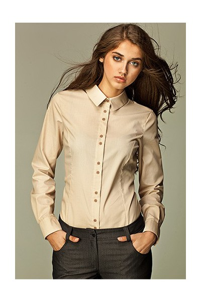 Dámská košile Nife K 38-béžová