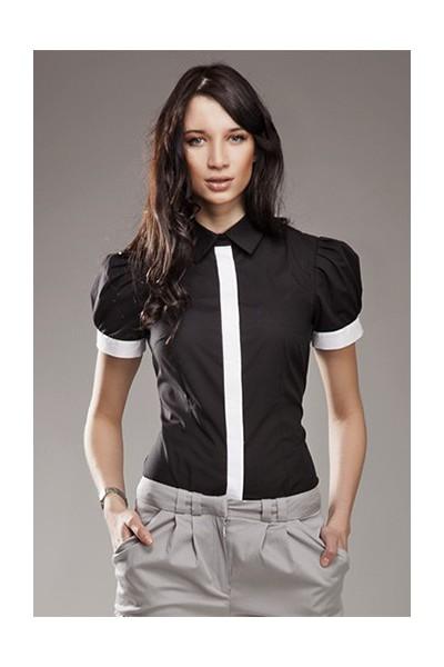 Dámská košile Nife K 33-černá