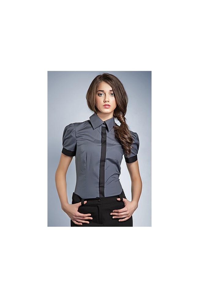 Dámská košile Nife K 33-šedá