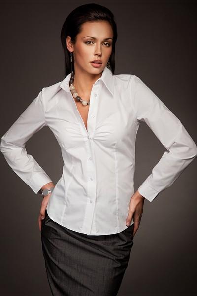 Dámská košile Nife K 24-bílá