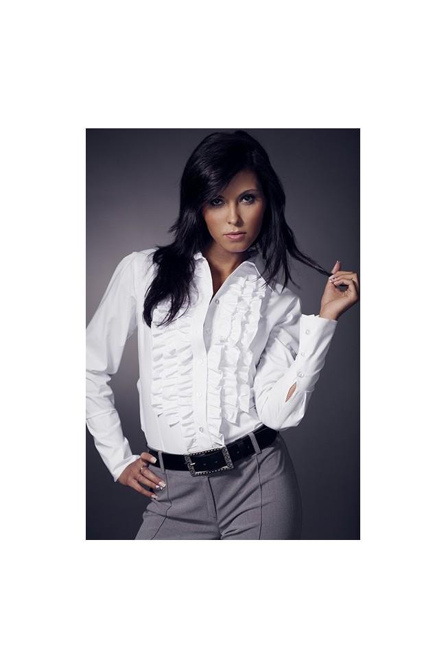 Dámská košile Nife K 01-bílá