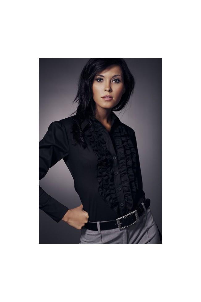 Dámská košile Nife K 01-černá