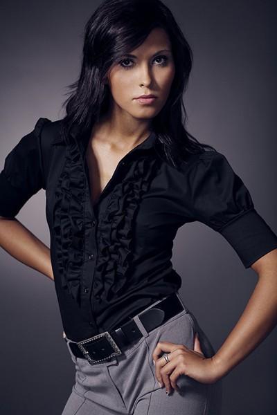 Dámská košile Nife K 02-černá