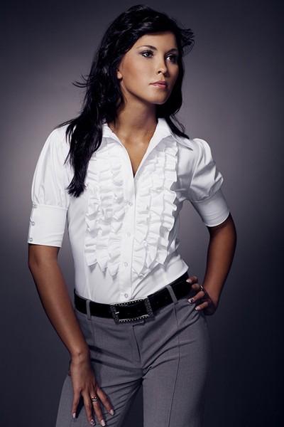 Dámská košile Nife K 02-bílá