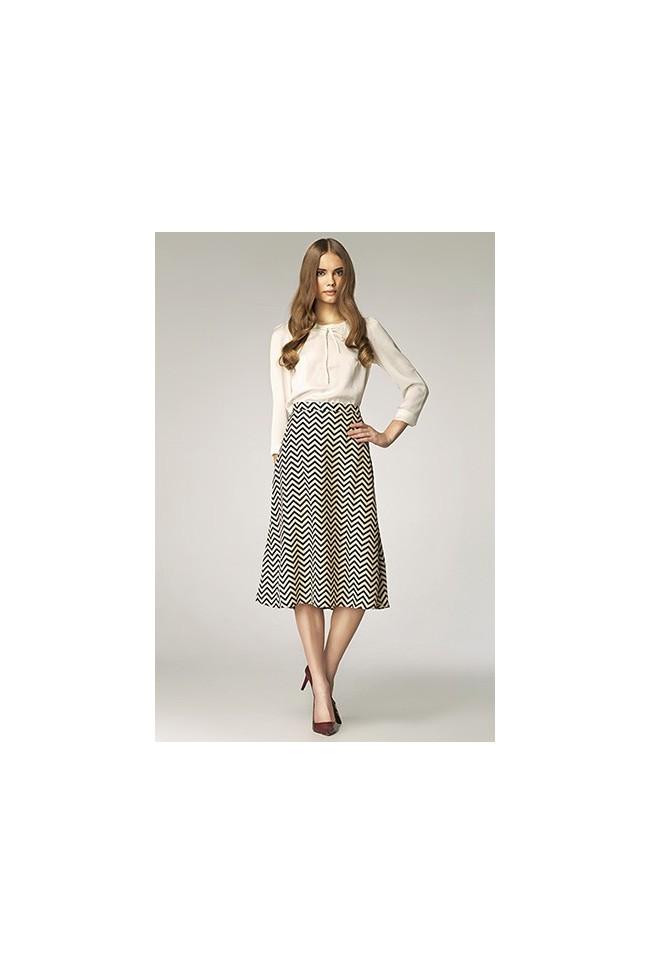 Dámská sukně Nife Sp19 vzorovaná