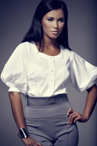 Dámská košile Figl 29 bílá