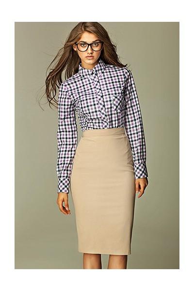 Dámská sukně Nife Sp13 béžová
