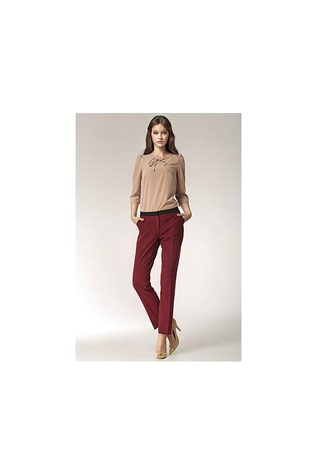 Dámské kalhoty Nife Sd 07 - bordó