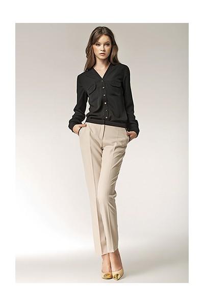 Dámské kalhoty Nife Sd 07 - béžová