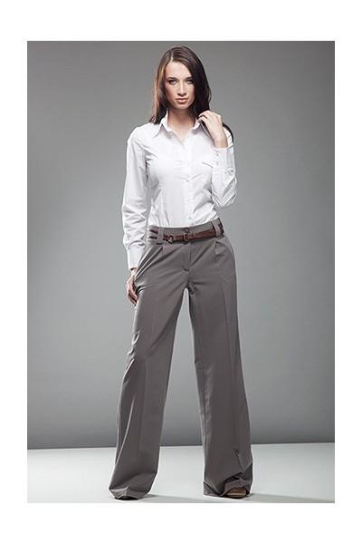 Dámské kalhoty Nife Sd 02 - moka (šedé)