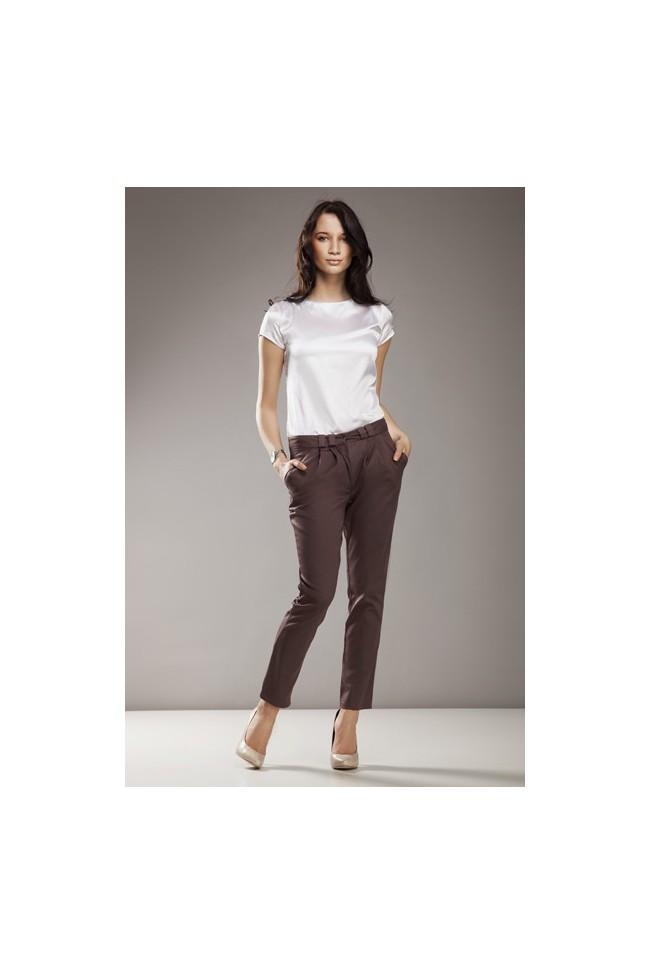 Dámské kalhoty Nife Sd 01 - moka